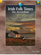 Irish Folk Tunes for Accordion (book/CD)