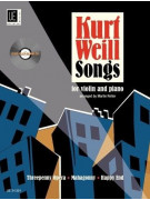 Kurt Weill Songs for Violin and Piano (book/CD)