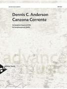 Canzona Corrente (Saxophone Quartet)