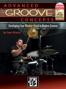 Advanced Groove Concepts (book/DVD-Rom)