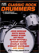 Classic Rock Drummers (book/CD)