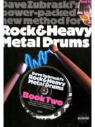 Rock & heavy metal drums book 2 (book & CD)