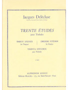 Trente Etudes pour Timbales-1 Cahier