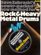 Rock & heavy metal drums book 1 (book & CD)