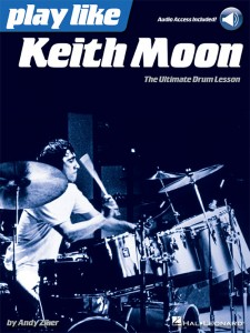 Play like Keith Moon (Book/Online Audio Tracks)