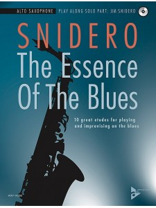 The Essence of the Blues: Alto Saxophone (book/CD)