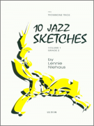10 Jazz Sketches for Trombones Trios 4