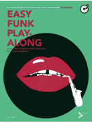 Alto Saxophone: Easy Funk Play-Along (book/CD)