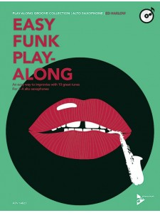 Alto Saxophone: Easy Funk Play-Along (book/CD)