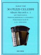 30 Pezzi Celebri per Fisarmonica - Album Ricordi n.1