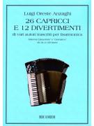 26 Capricci e 12 divertimenti (Fisarmonica)