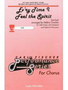 Ev'ry Time I Feel the Spirit SAB (score/CD sing-along)