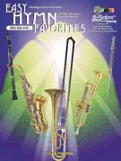 Easy Hymn Favorites Alto Sax (book/CD)