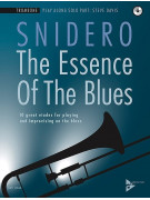 The Essence of the Blues: Trombone (book/CD)