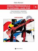 Corso professionale di chitarra jazz/pop - Studi melodici e armonici (libro/CD)
