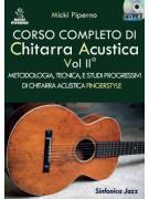 Corso completo di chitarra acustica Vol.II (libro/CD)