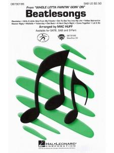 Beatlesongs (Medley) SAB