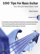 100 Tips For Bass Guitar (book/CD)