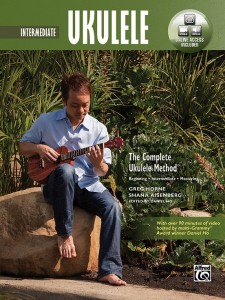 The Complete Ukulele Method: Intermediate Ukulele (book/DVD)