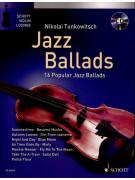 Jazz Ballads for Violin (book/CD)