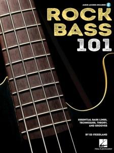 Rock Bass 101 (book/Audio Online)