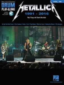 Metallica: Drum Play-Along Volume 48 (book/Audio Online)