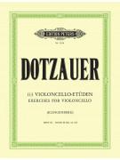 Dotzauer - 113 Violoncello Etuden - Heft III / Book III