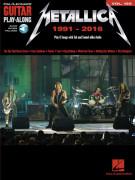 Metallica: Guitar Play-Along Volume 196 (book/Audio Online)