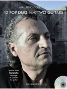 12 Pop Duo for Two Guitars (libro/CD)