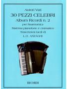 30 Pezzi Celebri per Fisarmonica - Album Ricordi n.2
