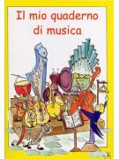 Il mio quaderno di musica (4 pentagrammi)