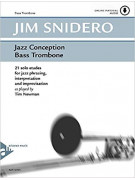 Jazz Conception for Bass Trombone Soloist (book/CD play-along)