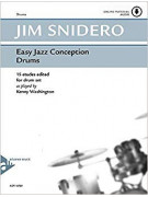 Easy jazz Conception for Drums (book/CD play-along)