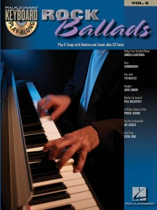 Keyboard Play-Along Volume 6: Rock Ballads (book/CD)