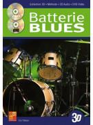 La Batterie Blues en 3D (book/CD/DVD)