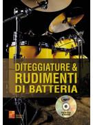 Diteggiature & rudimenti di batteria (libro/CD MP3)