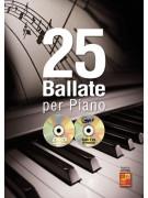 25 ballate per piano (liro/CD/DVD)