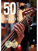 50 linee di basso per principianti (libro/CD/DVD)