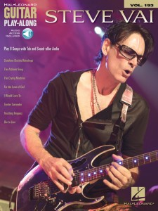 Steve Vai: Guitar Play-Along Volume 193 (book/Audio Online)
