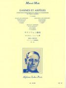 Gammes et Arpèges en trois cahiers, Vol. 1