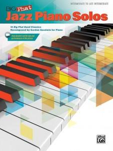 Big Phat Jazz Piano Solos (book/Audio Online)