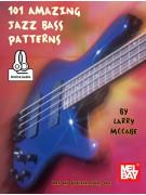 101 Amazing Jazz Bass Patterns (book/CD)