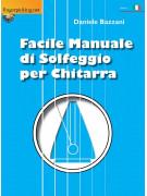Facile Manuale di Solfeggio per Chitarra (libro/Audio Online)