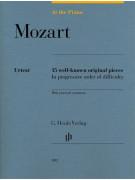 At The Piano - Mozart