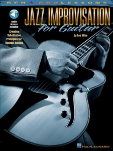 Jazz Improvisation for Guitar (book/Audio Online