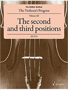 The Doflein Method 3 - The second and third positions