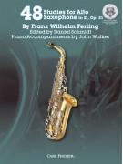 48 Studies for Alto Saxophone, op. 31 (book/Audio Online)