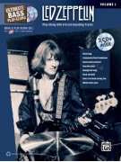 Ultimate Bass Play-Along: Led Zeppelin, Volume 1 (book/2 CD)