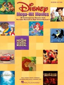 Disney Mega-Hit Movies (Easy Piano)