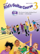 Alfred's Kid's Guitar Course 3 (book/CD)